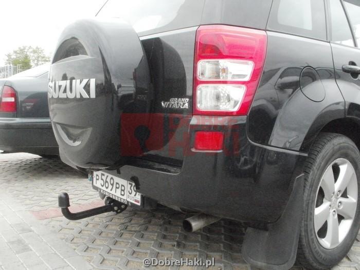 Hak Holowniczy Po Montazu Autohak W on 2010 Suzuki Grand Vitara